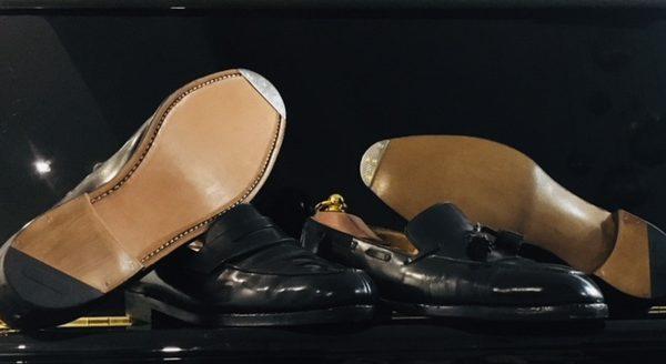 Ressemelages complet cuir Weston cousu et sous gravure avec fers encastrés
